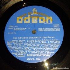 Discos de vinilo: LP / VARIOS ARTISTAS / LOS GRANDES CONJUNTOS ESPAÑOLES / ODEON MOCL 126 / 1965 / PROMO. Lote 151438822