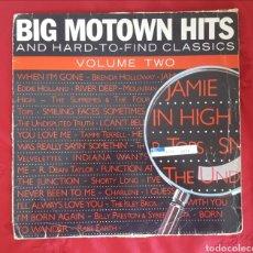 Discos de vinilo: BIG MOTOWN HITS VOLUME TWO. Lote 151439549