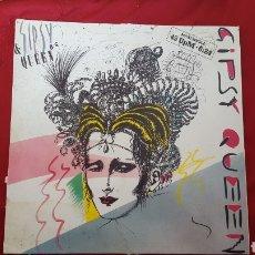 Discos de vinilo: GIPSY QUEEN MAXI SINGLE ITALY 1986. Lote 151442440