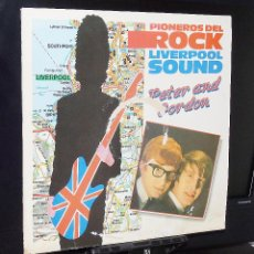Discos de vinilo: PETER AND GORDON ---A WORLDWITHOUT LOVE & NOBODY I KNOW & WOMAN +17 /VINILO (MINT ( M ) FUNDA G+. Lote 151443246