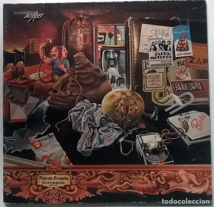 FRANK ZAPPA & MOTHERS OF INVENTION. OVER-NITE SENSATION RYKODISC GERMANY 1973 LP + DOBLWE CUBIERTA (Música - Discos - LP Vinilo - Pop - Rock - Extranjero de los 70)