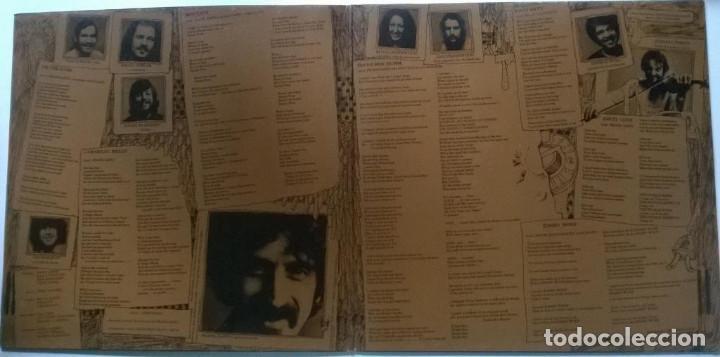 Discos de vinilo: Frank Zappa & Mothers of Invention. Over-Nite Sensation Rykodisc Germany 1973 LP + doblwe cubierta - Foto 2 - 151443582