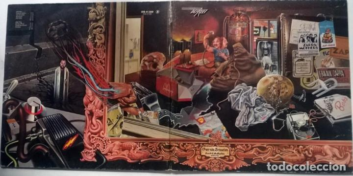 Discos de vinilo: Frank Zappa & Mothers of Invention. Over-Nite Sensation Rykodisc Germany 1973 LP + doblwe cubierta - Foto 3 - 151443582