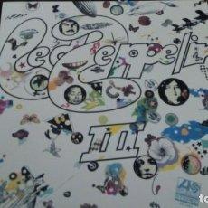 Discos de vinilo: LED ZEPPELIN III LP GATEFOLD 180 GRAM. Lote 151444966