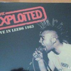 Discos de vinilo: THE EXPLOITED LIVE IN LEEDS 1983 LP. Lote 151446790