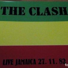 Discos de vinilo: THE CLASH LIVE JAMAICA 27. 11. 82 LP. Lote 151446882