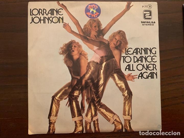 LORRAINE JOHNSON ?– I'M LEARNING TO DANCE ALL OVER AGAIN SELLO: ZAFIRO ?– P-71 FORMATO: VINYL, 7 (Música - Discos - Singles Vinilo - Funk, Soul y Black Music)