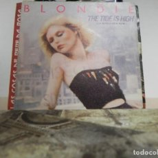 Discos de vinilo: BLONDI THE TIDE IS HIGH / SUSIE AND JEFFREY (VER FOTO VER ESTADO FUNDA O CARATULA). Lote 151452874