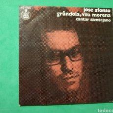 Discos de vinilo: SINGLE. JOSÉ AFONSO. GRANDOLA, VILA MORENA. CANTAR ALENTEJANO. HISPAVOX 1975. Lote 151455253