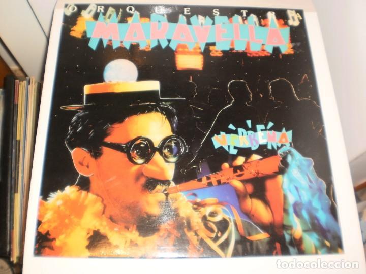 LP ORQUESTA MARAVELLA. VERBENA. PICAP 1992 SPAIN (DISCO PROBADO Y BIEN, SEMINUEVO) (Música - Discos - LP Vinilo - Orquestas)