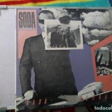 Discos de vinilo: SODA STEREO – NADA PERSONAL. CBS 1985 ARGENTINA . Lote 151456110
