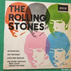 Discos de vinilo: SINGLE. THE ROLLING STONE. SATISFACTION. DECCA 1965. Lote 151456606