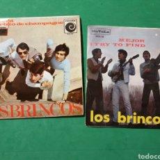 Discos de vinilo: SINGLES LOS BRINCOS. NOVOLA 1966.. Lote 151457413