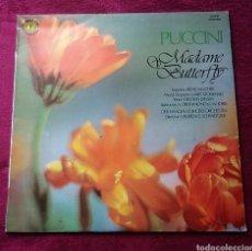 Discos de vinilo: LP DISCO VINILO PUCCINI MADAME BUTTERFLY AÑO 1979. Lote 151457538