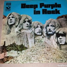 Discos de vinilo: DEEP PURPLE IN ROCK VINILO EDICIÓN ESPAÑOLA 1970. Lote 151457872