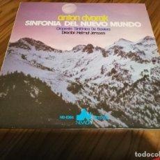 Discos de vinilo: ANTON DVORAK. SINFONIA DEL NUEVO MUNDO. ORQUESTA SINFÓNICA DE BAVIERA. VINILO Y CARPETA BUEN ESTADO. Lote 151458750