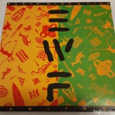 Discos de vinilo: LP / EARTH WIND & FIRE / HERITAGE / CBS 466242-1 / 1990 . Lote 151459242