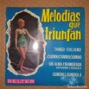 Discos de vinilo: EP / ERNESTO BONINO / MELODIAS QUE TRIUNFAN / BELTER 50.570 / 1962. Lote 151460882