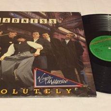 Discos de vinilo: MADNESS - ABSOLUTELY LP, REEDICIÓN, 1986, ESPAÑA. Lote 151463982