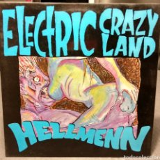 Discos de vinilo: HELLMENN, ELECTRIC CRAZY LAND. AUSSIE ROCK. MUNSTER 1991. Lote 151465657