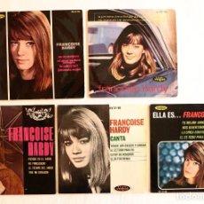Discos de vinilo: FRANÇOISE HARDY - 5 DISQUES EP - ESPAGNE. Lote 151465850