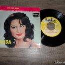 Discos de vinilo: DALIDA - AIE MON COEUR +3. Lote 151469458