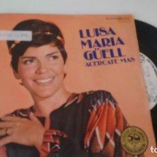 Discos de vinilo: SINGLE (VINILO) DE LUISA MARIA GÜELL AÑOS 70. Lote 151470998