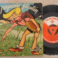 Discos de vinilo: EL PEQUEÑO FLAUTIN TONY GOMEZ SINGLE VINYL MADE IN SPAIN . Lote 151481394
