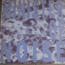 Discos de vinilo: MINISTER OF NOISE – VOODOO SOUL KK RECORDS 1991 BÉLGICA. Lote 151445294