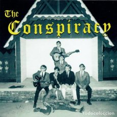 Discos de vinilo: THE CONSPIRACY ‎– DREAM WORLD SINGLE ORANGE TRANSLUCID GARAGE ROCK. Lote 151484782