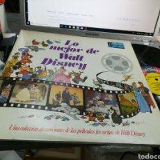 Discos de vinilo: LO MEJOR DE WALT DISNEY DOBLE LP ESPAÑA 1983. Lote 151487204