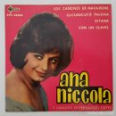 Discos de vinilo: EP / ANA NICCOLA Y CONJUNTO DE FERNANDO ORTEU / LOS CAÑONES DE NAVARONE +3 / SAEF SAP-55052 / 1962. Lote 151491674