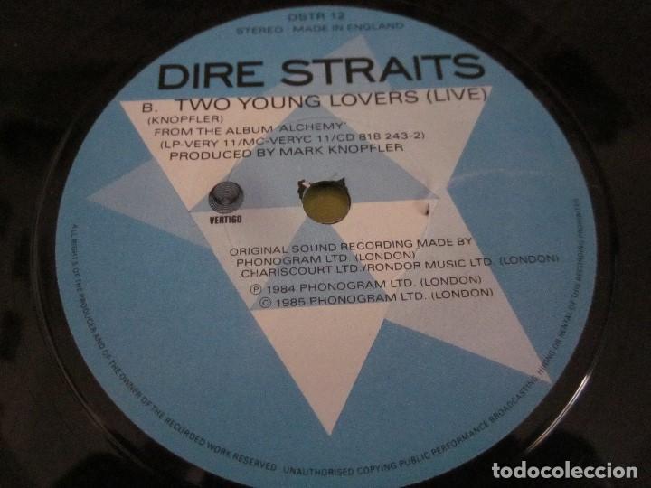 Discos de vinilo: DIRE STRAITS - WALK OF LIFE - SG - EDICION INGLESA DEL AÑO 1985. - Foto 4 - 151495270
