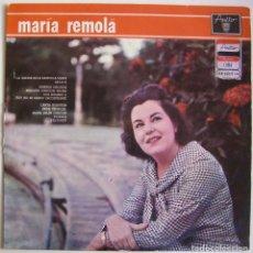 Discos de vinilo: MARÍA REMOLÁ-MARÍA REMOLÁ, AREITO, LPA-3216, LD-3216. Lote 151497734