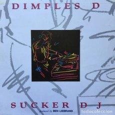 Discos de vinilo: DIMPLES D – SUCKER DJ - MAXI BLANCO Y NEGRO SPAIN 1992. Lote 151499750