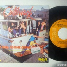 Discos de vinilo: CHILLIWACK - MY GIRL GONE GONE (MI CHICA) / SING HERE - SINGLE 1981 - RCA. Lote 151509710