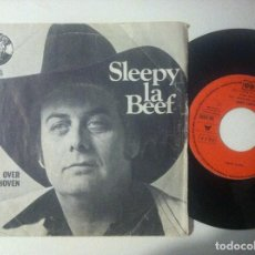 Discos de vinilo: SLEEPY LA BEEF - ROLL OVER BEETHOVEN / SEND ME SOME - SINGLE 1979 - CHARLY. Lote 151511394