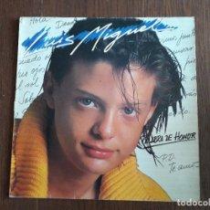 Discos de vinilo: DISCO VINILO LP LUIS MIGUEL, PALABRA DE HONOR. EMI AÑO 1985. Lote 151525354