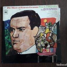 Discos de vinilo: DISCO VINILO LP TRIO LOS PANCHOS, MÚSICA DE ERNESTO LECUONA. CBS 62597 AÑO 1967. Lote 151525846