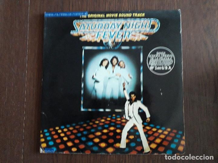 DISCO VINILO DOBLE LP, SATURDAY NIGHT FEVER, BANDA SONORA Nº 1 EN USA. STEREO 2658123 AÑO 1977 (Música - Discos - LP Vinilo - Bandas Sonoras y Música de Actores )