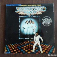 Discos de vinilo: DISCO VINILO DOBLE LP, SATURDAY NIGHT FEVER, BANDA SONORA Nº 1 EN USA. STEREO 2658123 AÑO 1977. Lote 151530110