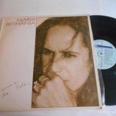 Discos de vinilo: MARIA BETHANIA-LP MEMORIA DA PELE. Lote 151530690