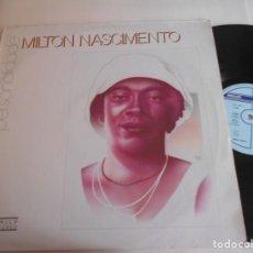Discos de vinilo: MILTON NASCIMENTO-LP PERSONALIDADE. Lote 151531338