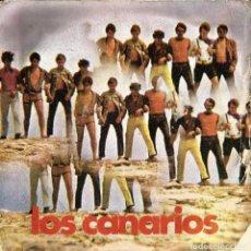Discos de vinilo: CANARIOS-PEPPERMINT FRAPPÉ. Lote 151531938