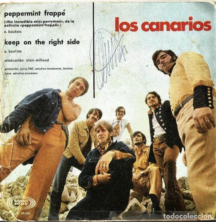 Discos de vinilo: CANARIOS-PEPPERMINT FRAPPÉ - Foto 2 - 151531938