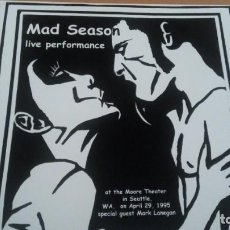Discos de vinilo: MAD SEASON LIVE PERFORMANCE LP. Lote 151534566