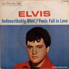 Discos de vinilo: ELVIS PRESLEY WITH THE JORDANAIRES - INDESCRIBABLY BLUE- SG- ED. ESPAÑOLA- 1967. Lote 151539970