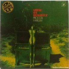Discos de vinilo: PROCOL HARUM. SHINE ON BRIGHTLY 1968/ HOME 1969. CUBE, GERMANY 1972 (2 LP + DOBLE CARPETA) . Lote 151540934