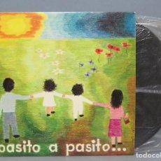 Discos de vinilo: LP. PASITO A PASITO. 12 CANCIONES INFANTILES. Lote 151541754