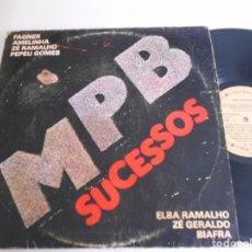 Discos de vinilo: MPB-LP SUCESSOS. Lote 151541770
